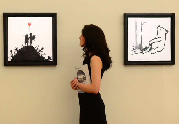 Unnamed woman sells Banksy artwork for £125,000