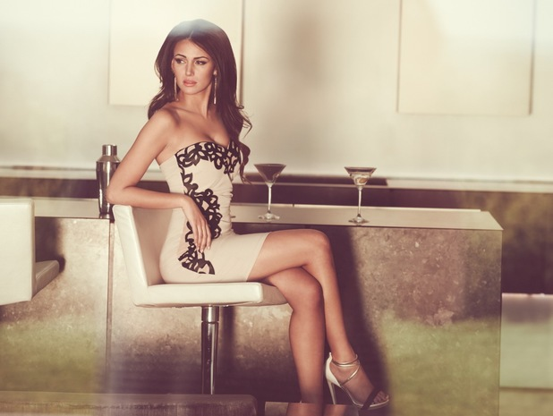 Michelle Keegan models her new clothing collection for Lipsy - 1 July 2014