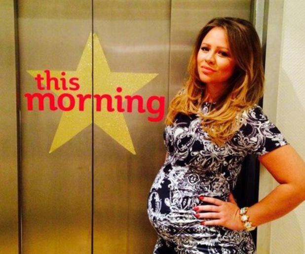 Kimberley Walsh on This Morning, 3 July