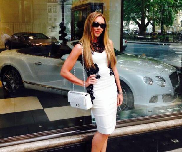 Michelle Heaton shares picture of a date night, July 2014