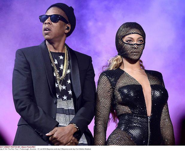 Beyoncé and Jay Z, On The Run tour, Foxborough, America, 1 July