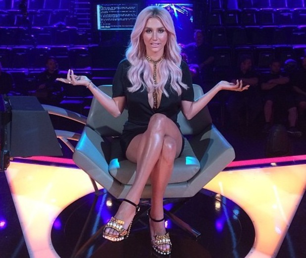 Kesha as a judge on Rising Star, Instagram, 17 June