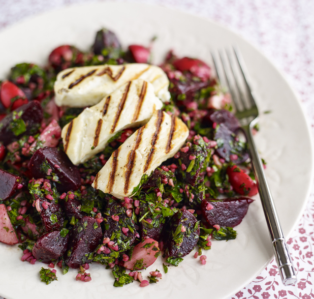 Sweet chilli beetroot tabbouleh