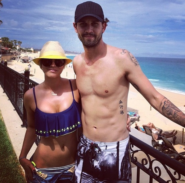 Kaley Cuoco Sweeting and Ryan Sweeting, Cabo, Mexico, Instagram, 3 July