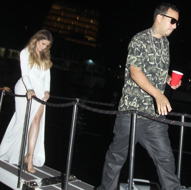 The Kardashians out and about, New York, America - 27 Jun 2014 Khloe Kardashian, French Montana