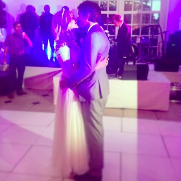 Fearne Cotton shares picture of first dance at her wedding to Jesse Wood, 5 July 2014