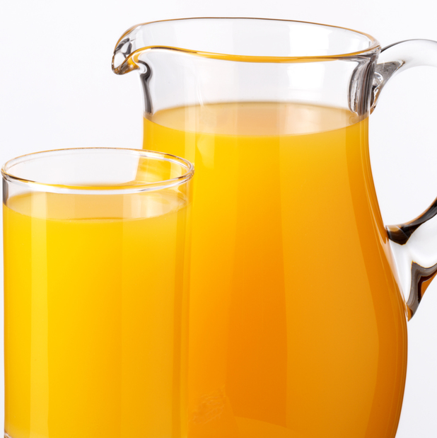 Orange juice in jug and glass - 3 July 2014