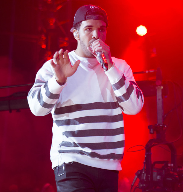 Drake performs live during Summer Jam 2014 at the Met Life Stadium - 1 June 2014.