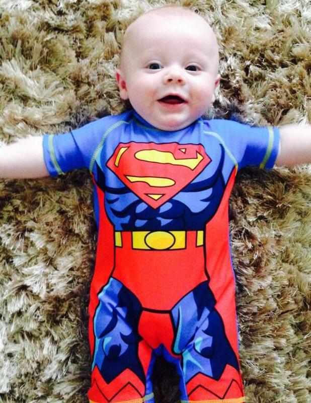 Michelle Heaton shares cute pics of her son AJ, 6 July 2014