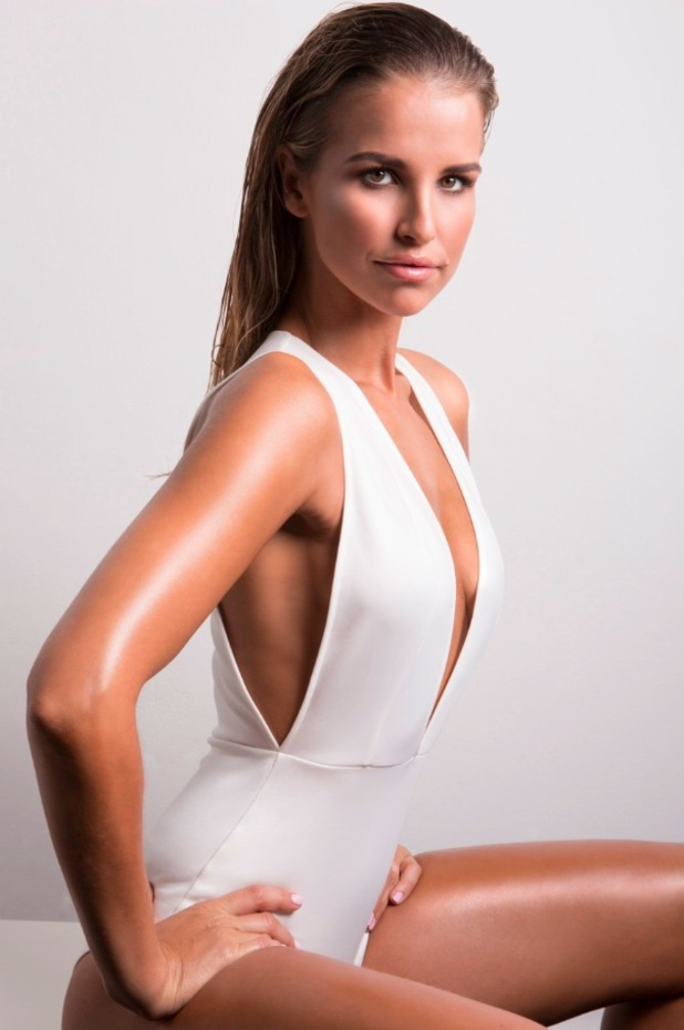 Vogue McFadden poses as the new ambassador for fake tan brand Cocoa Brown - 3 July 2014