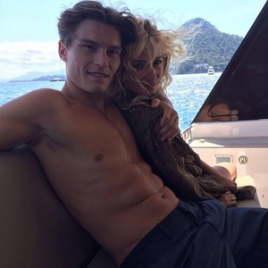 Pixie Lott and Oliver Cheshire on holiday, Instagram, 9 July