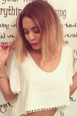 Vanessa Hudgens sports new bob, Instagram, 9 July