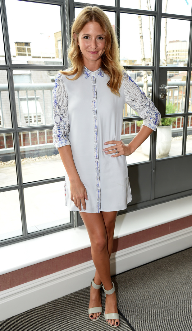 Millie Mackintosh attends the Nip + Fab press launch, held at The Soho Hotel in London, England - 9 July 2014