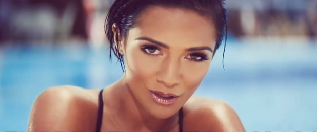 Frankie Sandford in the music video for The Saturdays' 'What Are You Waiting For?' - July 2014