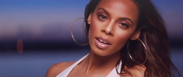 Rochelle Humes in the music video for The Saturdays' 'What Are You Waiting For?' - July 2014