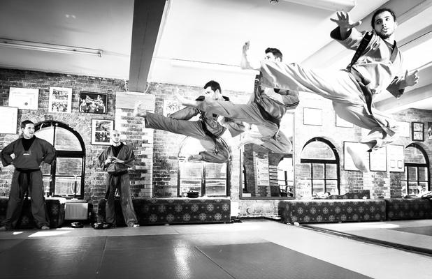 Xen-do martial arts club, London 2014