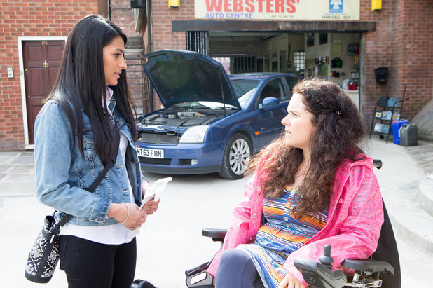 Corrie, Alya confesses to Izzy, Thu 10 Jul