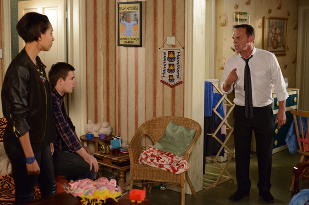 EastEnders, Billy lashes out, Mon 14 Jul