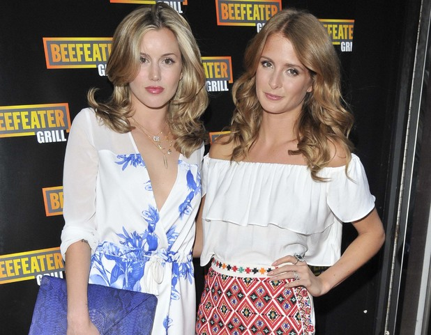 Millie Mackintosh and Caggie Dunlop, The Beefeater Grill 40th anniversary party, The Drury Club, Drury Lane, London, 10 June