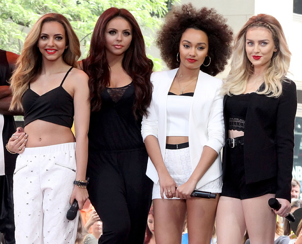 Little Mix perform live on the 'Today' show as part of NBC's Toyota Concert Series 06/17/2014