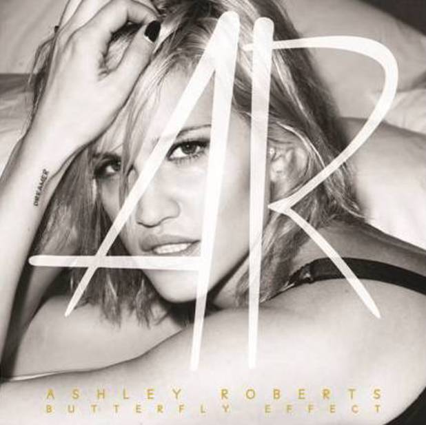 Ashley Roberts artwork cover for 'Butterfly Effect' - due for release on 1 September.