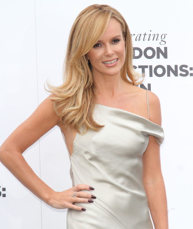 Amanda Holden at the One For The Boys Charity Ball at the Natural History Museum, Kensington, London 06/15/2014 London, United Kingdom
