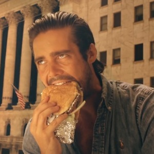 Made In Chelsea's Spencer Matthews eats a giant burger in new spin-off trailer (14 July).