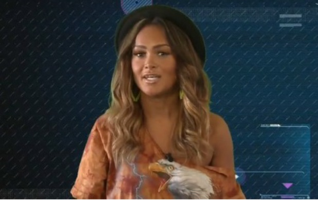 Zoe Birkett from Pop Idol enters the Big Brother house - 14 July 2014