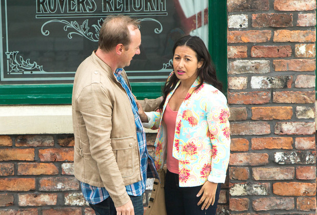 Corrie, Andrea and Neil, Wed 16 Jul