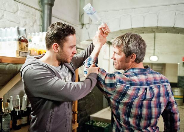 Emmerdale, James confronts Adam, Thu 17 Jul