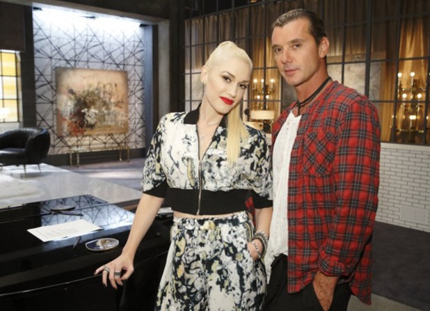 Gwen Stefani and Gavin Rossdale team up for The Voice US (14 July).