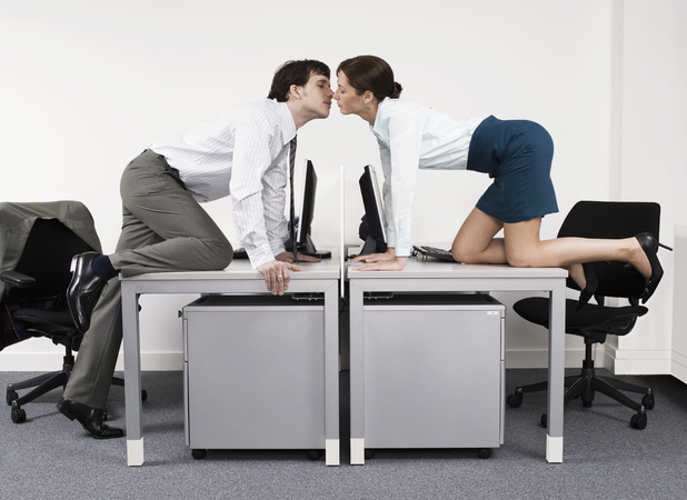 Four in ten Brits have slept with someone at work