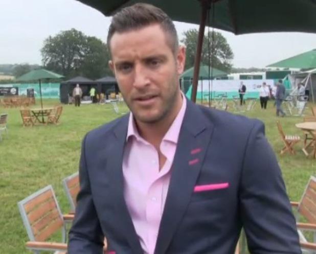 Elliott Wright speaks about Ferne McCann at Duke Of Essex Polo - 17 July 2014