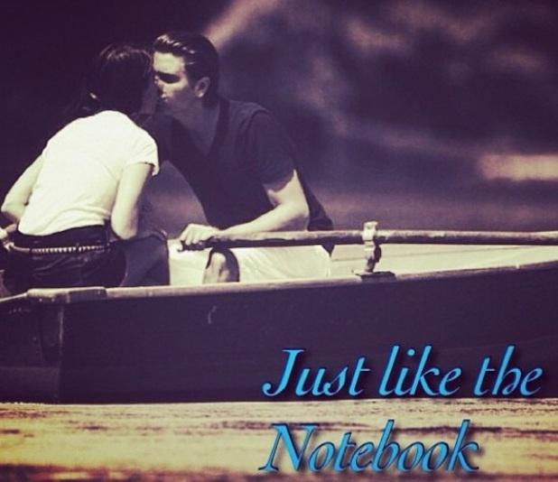Scott Disick and Kourtney Kardashian recreate The Notebook, 15 July 2014