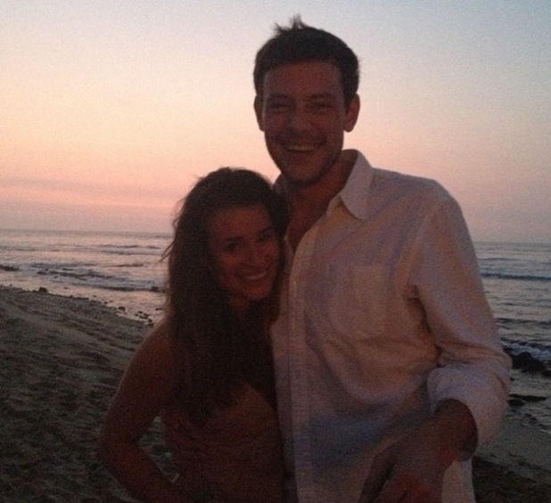 Lea Michele and Cory Monteith, Lea's tribute to Cory on anniversary, Instagram, 13 July