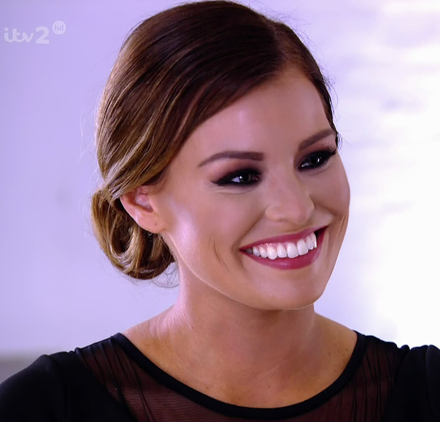 Jessica Wright, TOWIE, Ricky presents Jess with a commitment ring to show her that he is serious about their relationship on 'The Only Way Is Essex', Shown on ITV2 HD, 14 July 2014