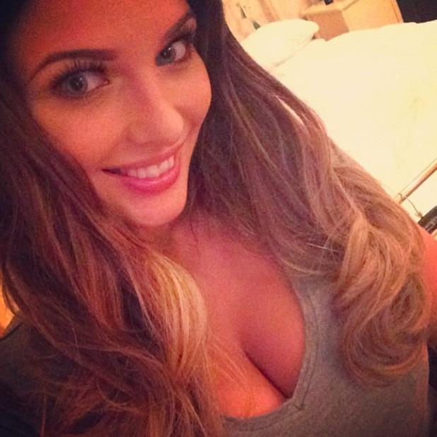 Helen Flanagan selfie, 19 July 2014