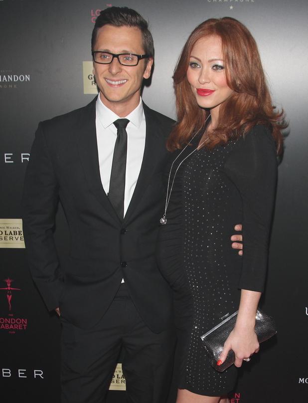 Pregnant Natasha Hamilton and Ritchie Neville at the London Cabaret Launch 05/09/2014