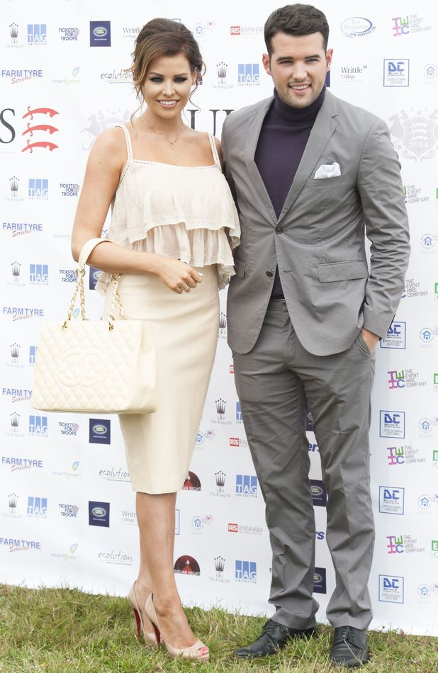 Jess Wright and Ricky Rayment at Duke's Polo, Chelmsford, Essex, 12 July