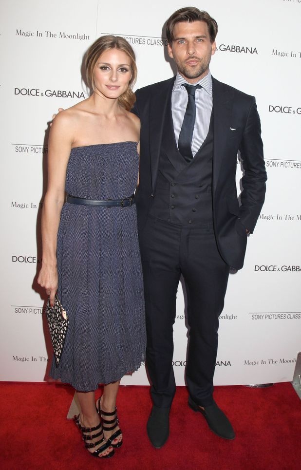Olivia Palermo and Johannes Huebl attend the premiere of 'Magic In The Moonlight' in New York, America - 17 July 2014