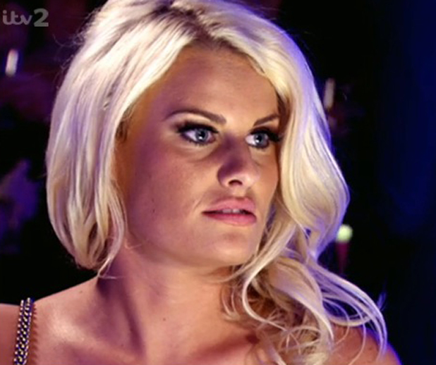 Danielle Armstrong on TOWIE talking about Vas J. Morgan, 16 July 2014