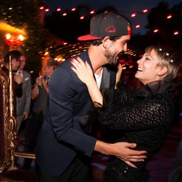 Kaley Cuoco shares photos of the party she threw for husband Ryan Sweeting's 27th birthday in LA, 13 July 2014