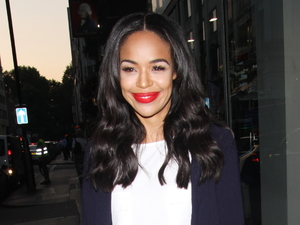 Xtra Factor's Sarah-Jane Crawford is gorgeous in top and skirt combo