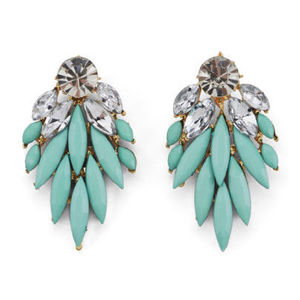 Impulse Women's Drop Earrings Mint - Reveal Shop