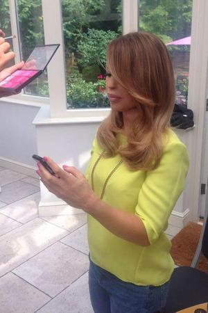 Katie Piper shares photo during promo of her new book, Beautiful Ever After. 21 July.