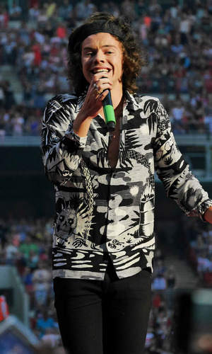 One Direction perform live in concert at Wembley Stadium - 8 June 2014