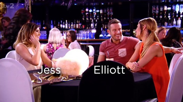 TOWIE: Elliott Wright and Chloe Sims talk to his cousin Jessica Wright. Aired 20 July.