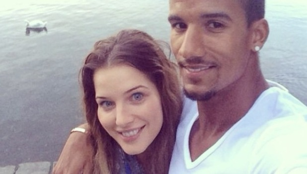 Helen Flanagan enjoys a weekend in Lake Windermere with Scott Sinclair and family - 21 July 2014