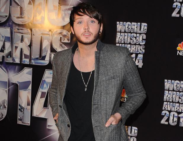 James Arthur at the 2014 World Music Awards at the Salle des Etoiles - Press Room 05/27/2014 Monte Carlo, Monaco