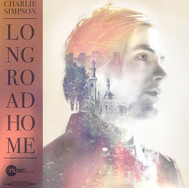 Charlie Simpson new album cover, 'Long Road Home', Instagram, 21 July